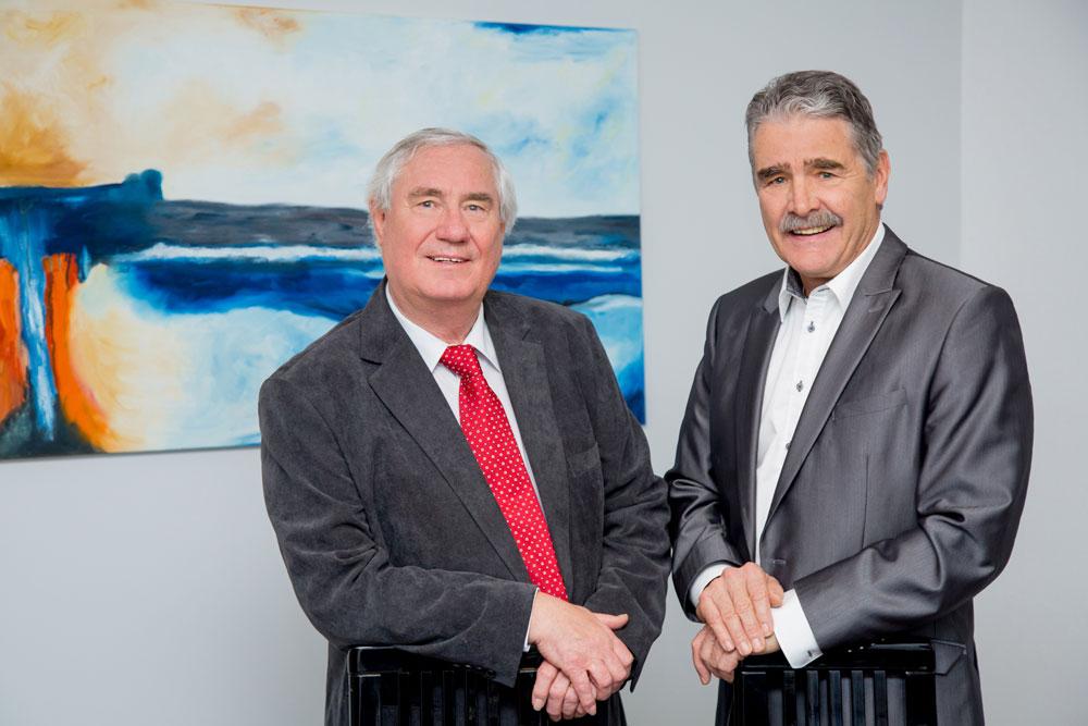 Die Geschäftsführer der Fritsche GmbH